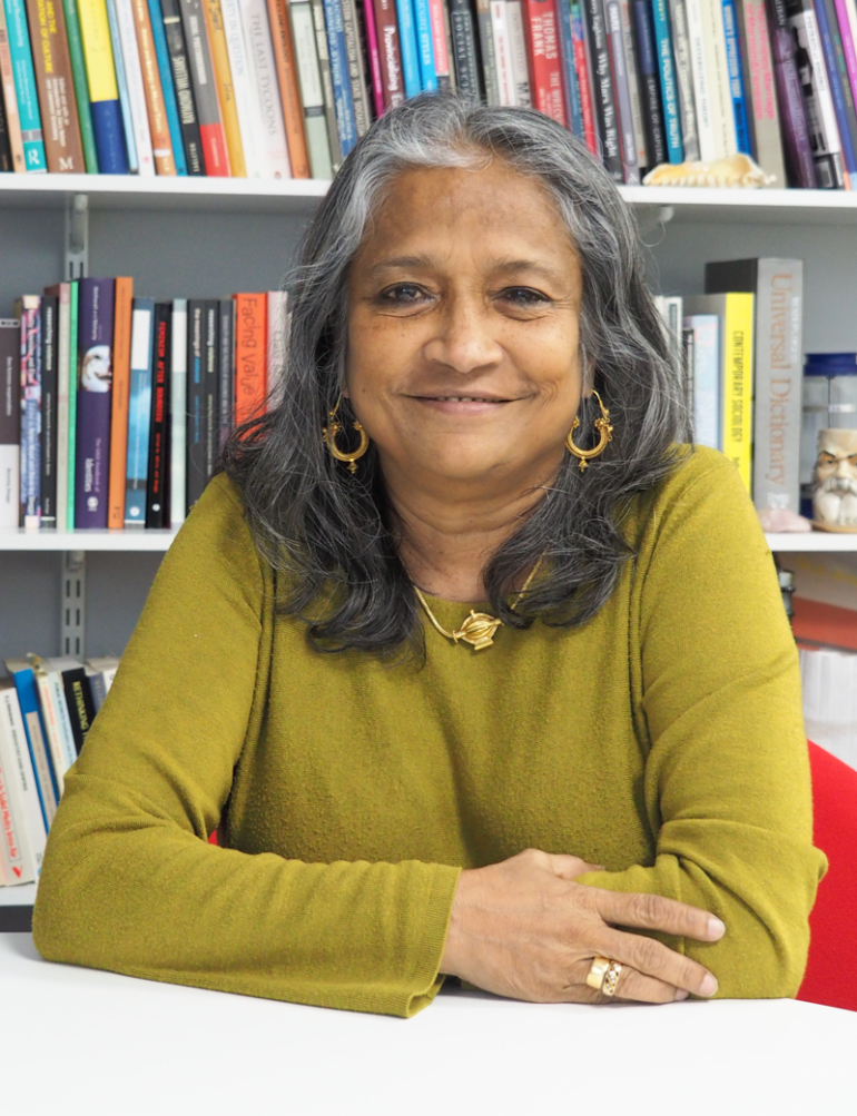Photo of Naila Kabeer LSE