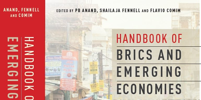 Webinar and book launch event on BRICS and Emerging Economies