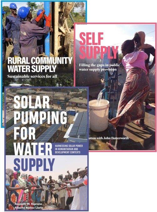 The rural water supply book set