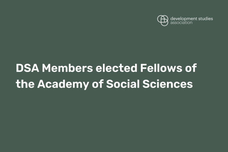 DSA Members elected Fellows of the Academy of Social Sciences